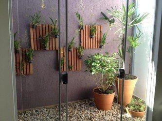 decoração de jardins de inverno simples