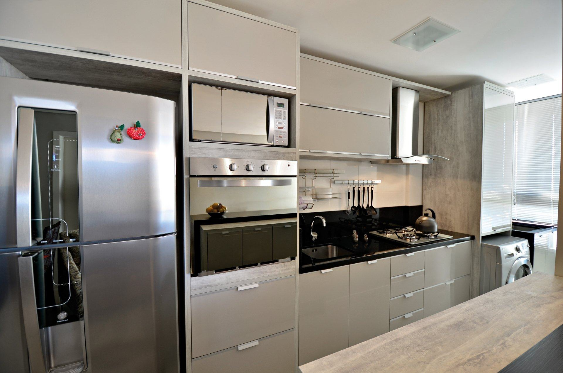 Cozinha Planejada Bege Finest Modelo Cozinha Planejada Para