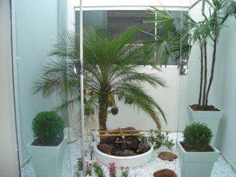 fotos de jardins de inverno simples