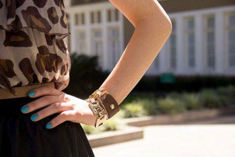 imagem 3 460x307 - Como usar Pulseira feminina de couro para quem gosta de acessórios