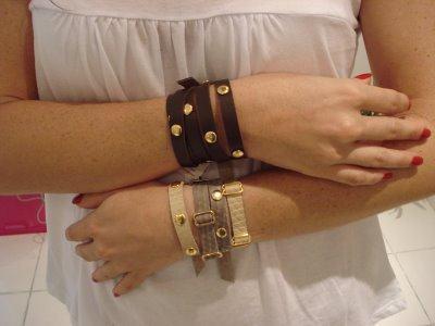 imagem 4 - Como usar Pulseira feminina de couro para quem gosta de acessórios