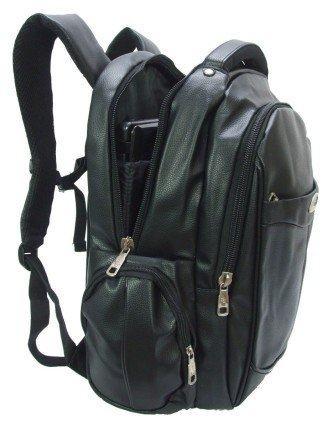 melhores mochila masculina couro sintético