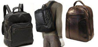 modelos de mochila masculina couro