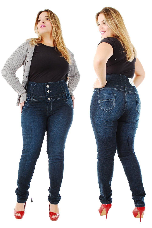Cala Jeans Para Gordas Tamanhos Especiais Plus Size -3659