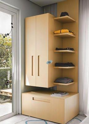 dicas de armário pequeno para quarto