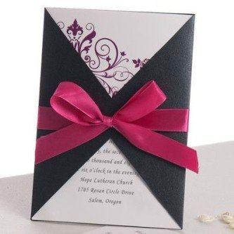 dicas de convites de casamento simples