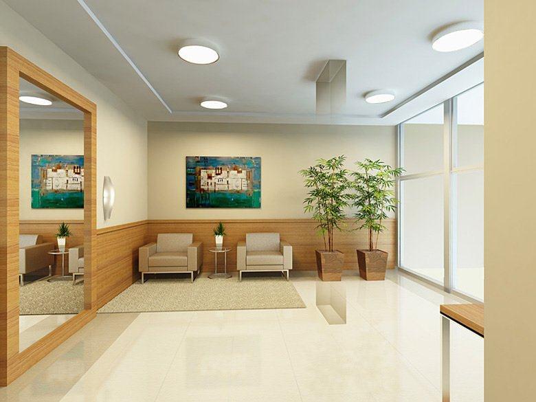 Decoraç u00e3o para Hall de entrada de prédios eáreas comuns Decor&MODA biz -> Decoração De Hall Social De Prédio