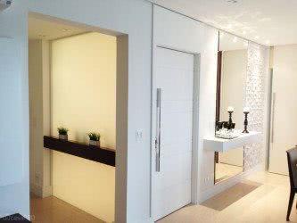hall de entrada para apartamento