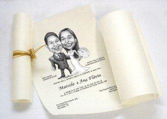 imagens de convites de casamentos engraçados