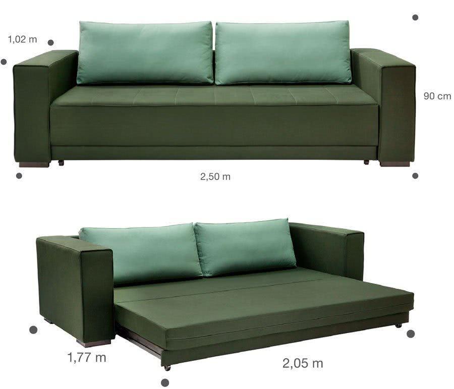 Sof cama casal as melhores op es em conforto e beleza - Modelos de sofas camas ...