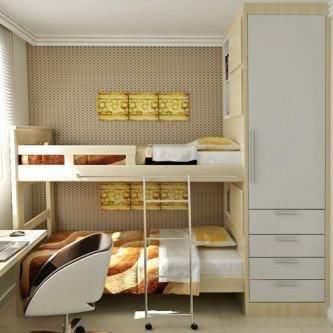 modelos de armário pequeno para quarto