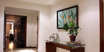 modelos de hall de entrada para apartamento