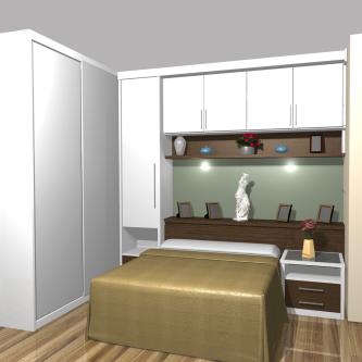 projetos de armário pequeno para quarto