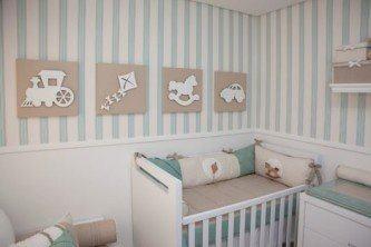 fotos de papel de parede para quarto de bebê