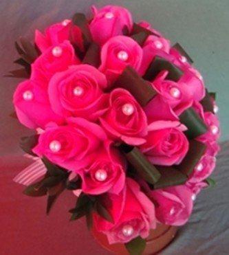 lindo buquê de rosas pink