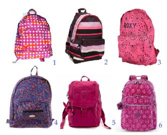 mochila escolar para adolescentes femininas