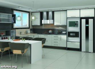 modernas cozinha planejada pronta