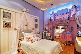 quarto infantil de princesa de luxo