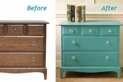 como pintar móveis antigos de forma simples