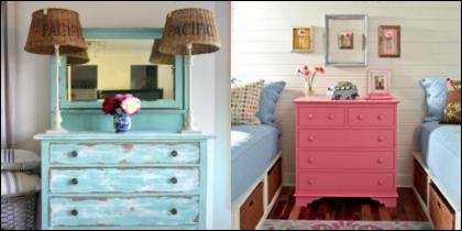 como pintar móveis antigos dicas