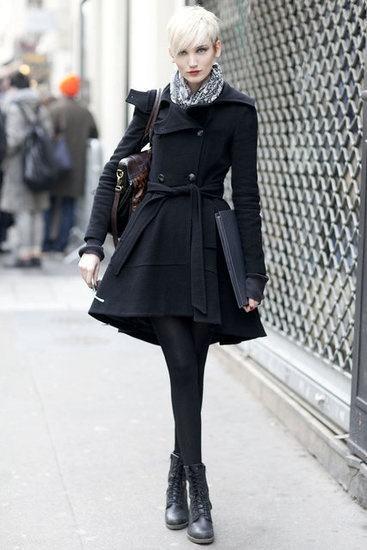 10 1 - Lindos CASACOS ESTILO VESTIDOS moda outono inverno