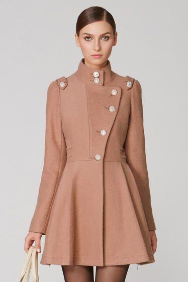 18 1 - Lindos CASACOS ESTILO VESTIDOS moda outono inverno