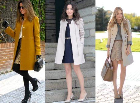 vestidos de inverno com casacos diferentes looks 460x341 - VESTIDOS DE INVERNO COM CASACOS veja como usar